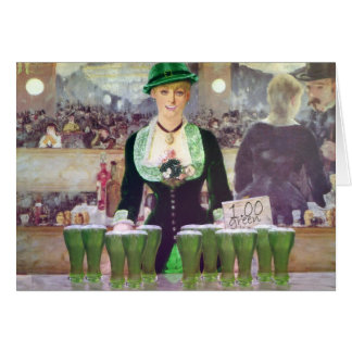 The Bartender sell  $1 Green Beer Card