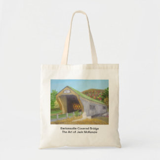 The Bartonsville Covered Bridge Budget Tote Bag