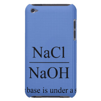 The base is under a salt iPod touch case
