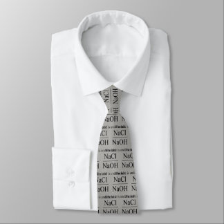 The base is under a salt tie