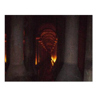 The Basilica Cistern of Istanbul Photo Postcard