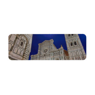 The Basilica di Santa Maria del Fiore in Florence, Return Address Label