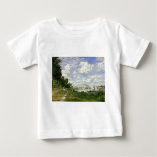 The Basin at Argenteuil - Claude Monet Baby T-Shirt
