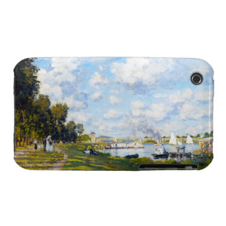 The Basin at Argenteuil Claude Monet Case-Mate iPhone 3 Cases