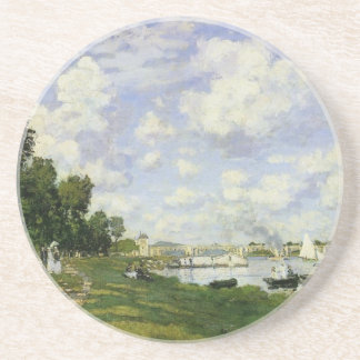 The Basin at Argenteuil - Claude Monet Coaster