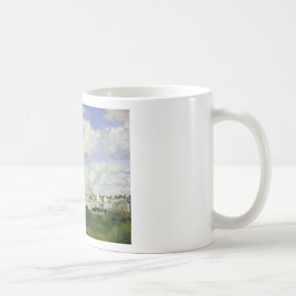 The Basin at Argenteuil - Claude Monet Coffee Mug