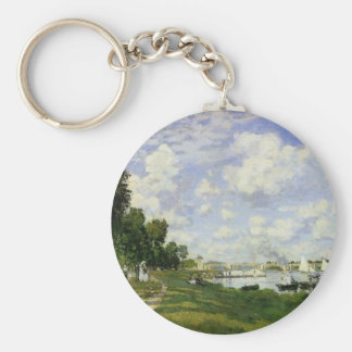 The Basin at Argenteuil - Claude Monet Key Ring