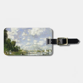 The Basin at Argenteuil - Claude Monet Luggage Tag