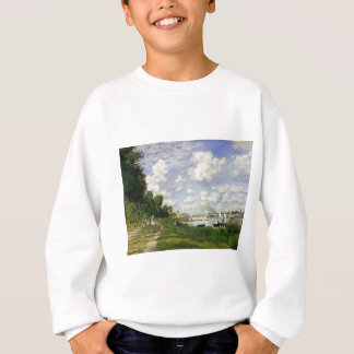 The Basin at Argenteuil - Claude Monet Sweatshirt
