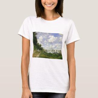 The Basin at Argenteuil - Claude Monet T-Shirt