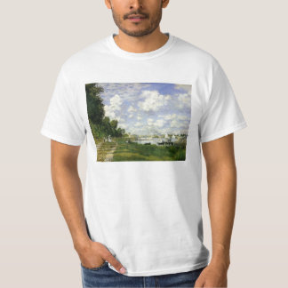 The Basin at Argenteuil - Claude Monet T-Shirt