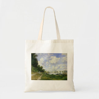 The Basin at Argenteuil - Claude Monet Tote Bag