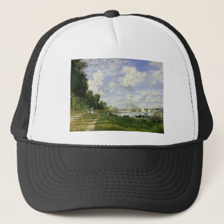 The Basin at Argenteuil - Claude Monet Trucker Hat