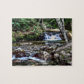 The Basin, Franconia New Hampshire Jigsaw Puzzle
