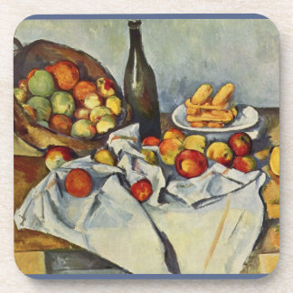 The Basket of Apples by Paul Cezanne Coaster