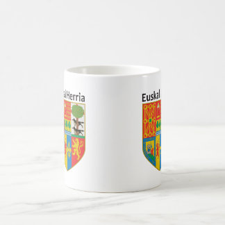 The Basque Country (Euskal Herria) coat of arms, Coffee Mug