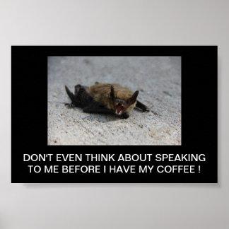 The Bat response Poster