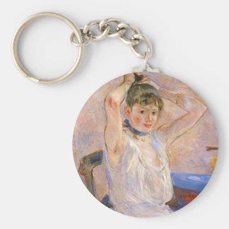 The Bath by Berthe Morisot Key Chains