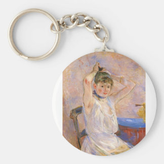 The Bath by Berthe Morisot Keychains