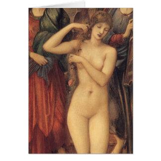 The Bath of Venus by Sir Edward Coley Burne Jones Greeting Card
