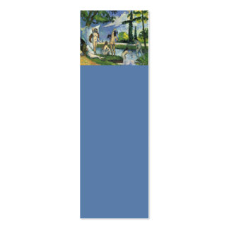 The Bathers, Paul Cezanne 1874 Pack Of Skinny Business Cards