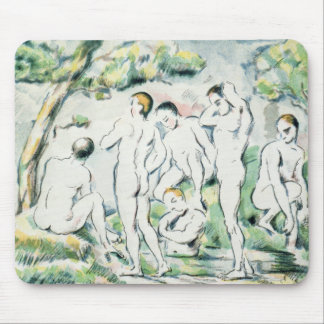 The Bathers, Small plate Mouse Pad