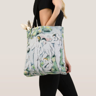 The Bathers, Small plate Tote Bag