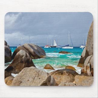 The Baths, Virgin Gorda, British Virgin Islands Mouse Pad