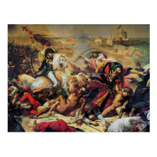 The Battle of Aboukir, 25th July 1799 Postcard