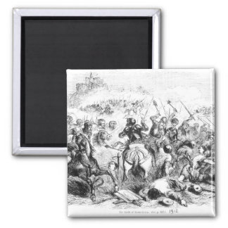 The Battle of Bannockburn in 1314 Magnet