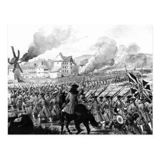 The Battle of Blenheim in 1704 Postcard