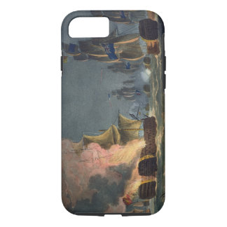 The Battle of Cabareta Point, July 12th 1801, engr iPhone 7 Case