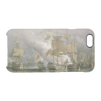 The Battle of Cape St. Vincent, 14th February 1797 Clear iPhone 6/6S Case