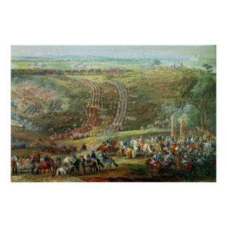 The Battle of Fontenoy, 11th May 1745 Poster