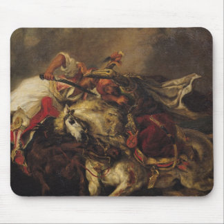 The Battle of Giaour and Hassan Mouse Pad