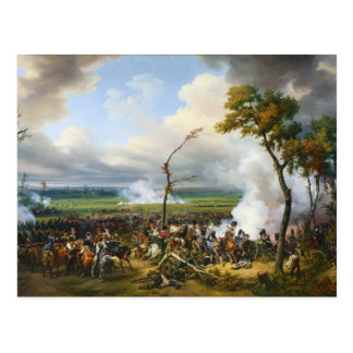 The Battle of Hanau by Horace Vernet Postcard