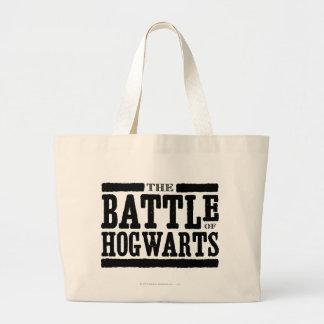 The Battle of Hogwarts Jumbo Tote Bag