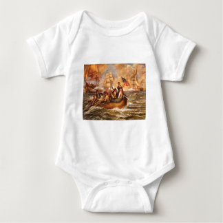 The Battle of Lake Erie by Percy Moran T-shirt