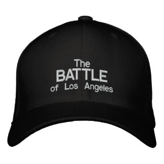 The Battle of Los Angeles Embroidered Baseball Caps