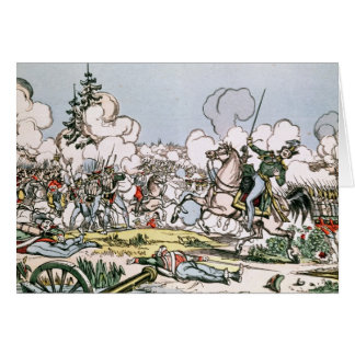 The Battle of Moscow, 7th September 1812 Card