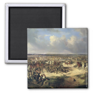 The Battle of Paris on 17th March 1814, 1834 Square Magnet