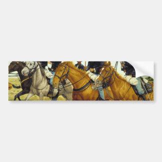 The Battle of Prairie Dog Creek by Ralph Heinz Bumper Sticker