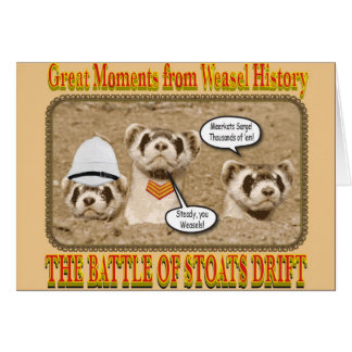 The Battle of Stoats Drift Notecard