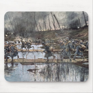 The Battle of the Yser in 1914 Mouse Pad
