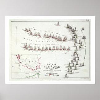 The Battle of Trafalgar, 21st October 1805, The Br Poster