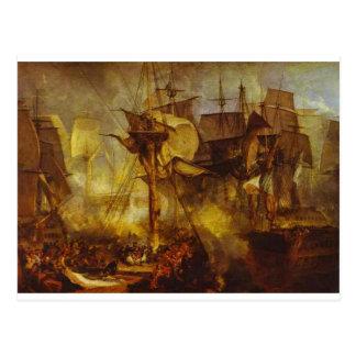 The Battle of Trafalgar, as Seen from the Mizen Postcard