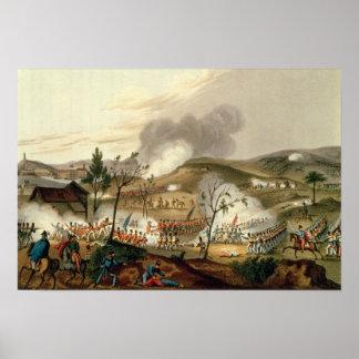 The Battle of Waterloo, 18 June 1815 Poster