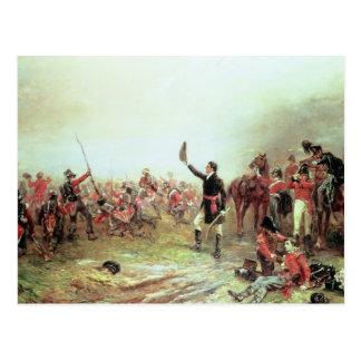 The Battle of Waterloo, 18th June 1815 2 Postcard