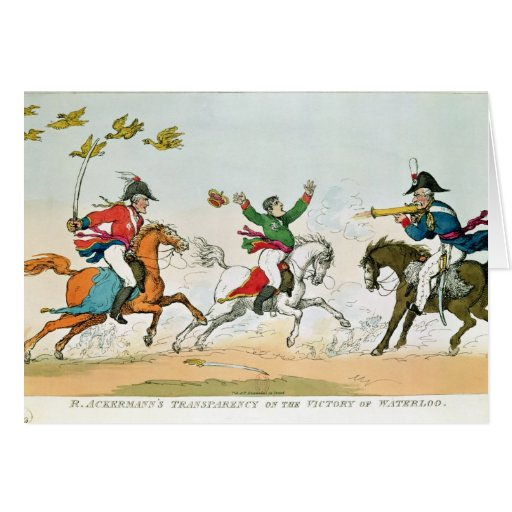 The Battle of Waterloo Greeting Cards