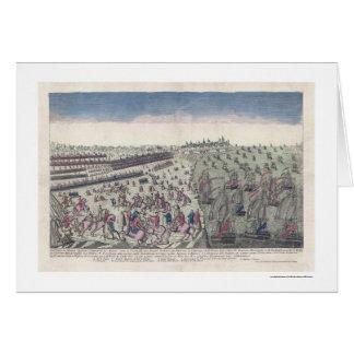 The Battle of Yorktown Print 1781 Greeting Card